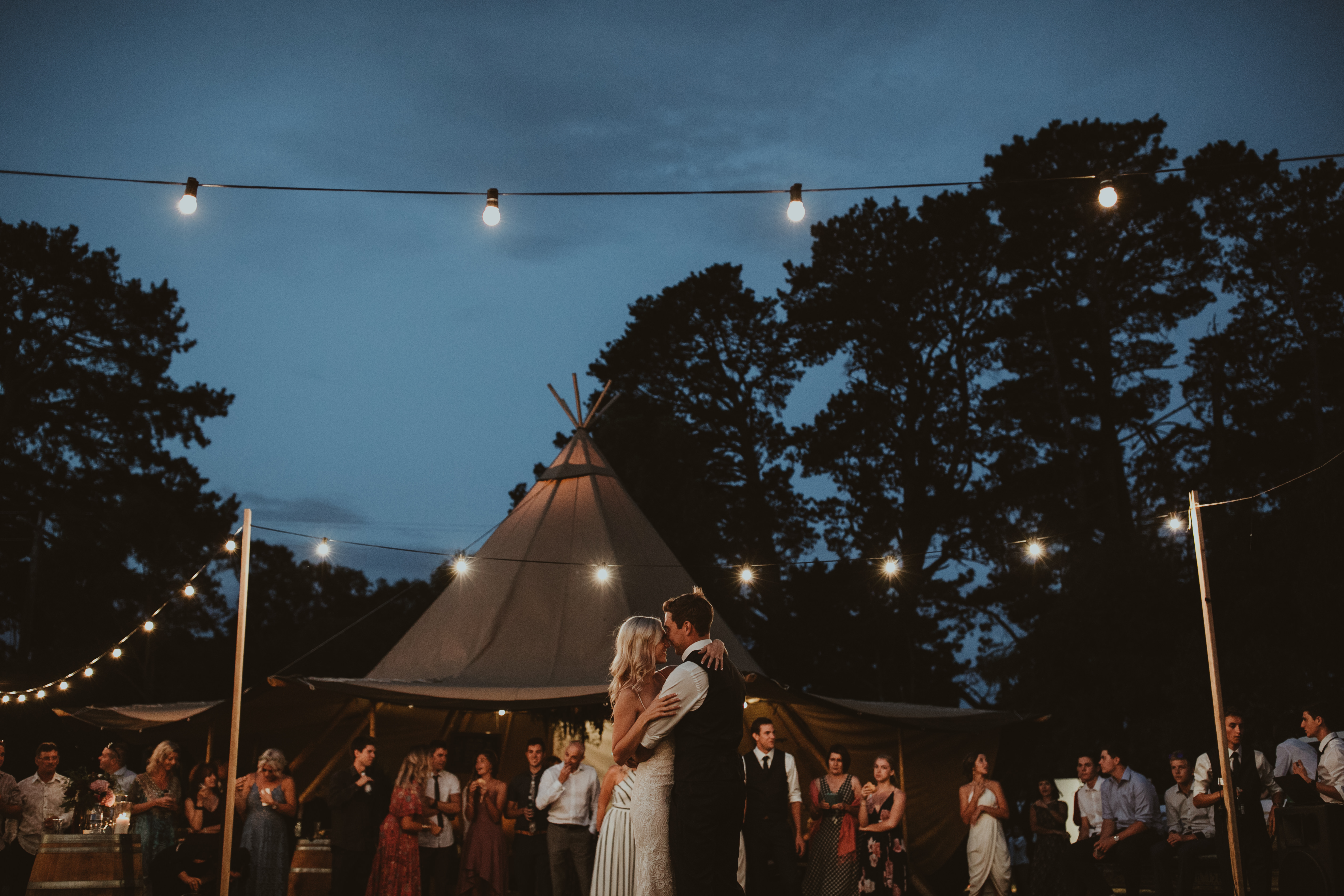 A wedding marquee as an alternative for event hire